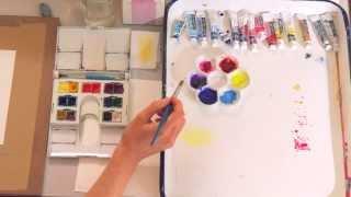 getlinkyoutube.com-Watercolor 101: Mixing Your Colors