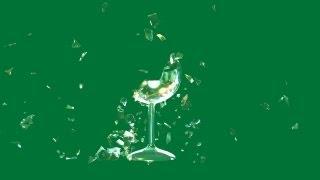 getlinkyoutube.com-glass shatters - green screen effect