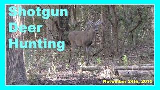 getlinkyoutube.com-Shotgun Deer Hunting - November 24th, 2015