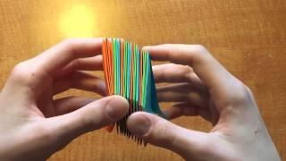 getlinkyoutube.com-МегаФейерверк из цветных листов - Поделки из бумаги делаем сами!