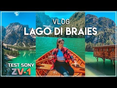 LAGO DI BRAIES | TEST SONY VLOG CAMERA ZV-1