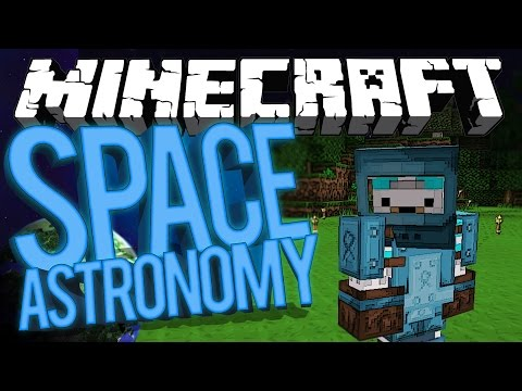 Minecraft Space Astronomy - NIK SOUNDBOARD! #3 [Modded HQM Survival]