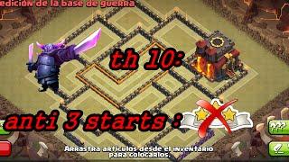 getlinkyoutube.com-Clash of Clans (CoC) TH10 War Base [Anti 3 Star] w/275 Walls
