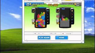 Tetris Battle T-spin practice by jhejhe 51 score