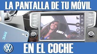 getlinkyoutube.com-MirrorLink: ¡La Pantalla de tu Teléfono en el Coche! | En Volkswagen Passat