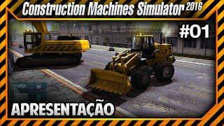 getlinkyoutube.com-Construction Machines Simulator 2016 - Conhecendo o Jogo PT-BR
