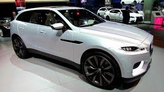 getlinkyoutube.com-2015 Jaguar CX-17 Sport SUV - Exterior and Interior Walkaround - 2013 LA Auto Show