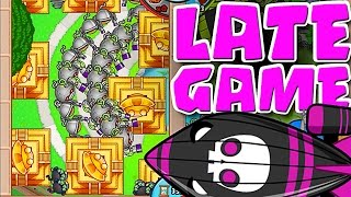 getlinkyoutube.com-Bloons TD Battles  ::  EPIC LATE GAME! MEGA BOOST SUPER MONKEYS!