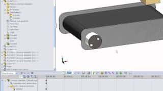 getlinkyoutube.com-HOW TO MAKE A MOVING CONVEYOR IN SOLIDWORKS