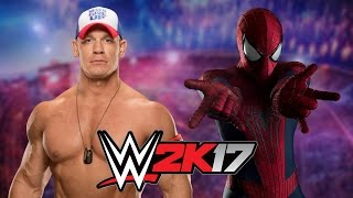 getlinkyoutube.com-John Cena vs Spider Man