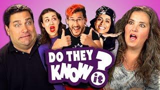 getlinkyoutube.com-DO PARENTS KNOW YOUTUBE STARS? #2 (REACT: Do They Know It?)