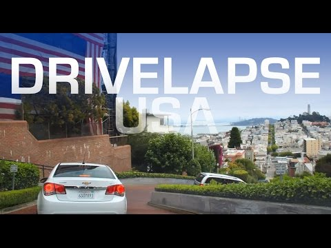 Drivelapse USA - 5 Minute Roadtrip Timelapse Around America