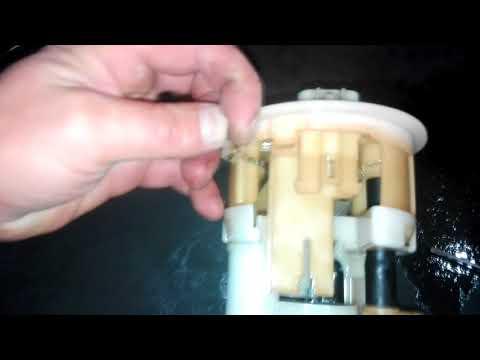 Замена топливного фильтра на тайоте Crown 173