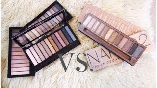 getlinkyoutube.com-NAKED PALETTE 1, 2 & 3 DUPES? ♡ NEW Makeup Revolution Iconic Palettes Review, Swatches & Comparison!