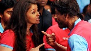 getlinkyoutube.com-Aishwarya Rai & Shahrukh Khan BOND @ Pro Kabaddi inaugural Match