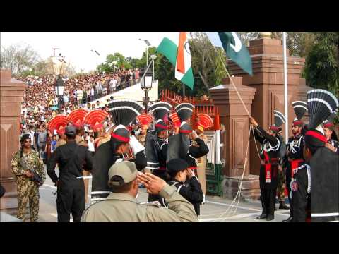 India Pakistan Wagah Border Closing Ceremony 11 (Pakistan Side)