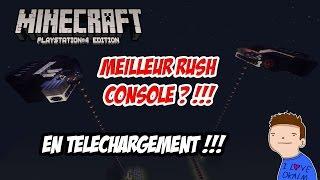 LA MEILLEUR MAP RUSH SUR MINECRAFT CONSOLE !!! EN TELECHARGEMENT!!! | Minecraft PS3/PS4 |