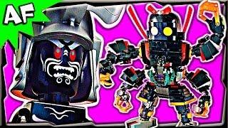 GODZILLA GARMADON MECH Custom Lego Ninjago 70504 70505 70725 70726 Animated Building Review