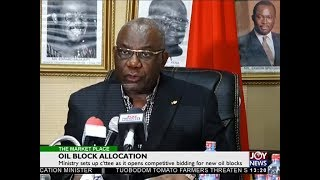 Oil Block Allocation - The Market Place on Joy News (16-5-18)