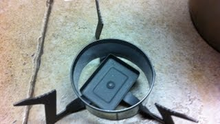 Focussing Ring for an Esbit Folding Ti Stove DIY  Project by FLAT CAT GEAR