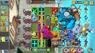 getlinkyoutube.com-Plants vs Zombies 2 - All World Plants vs Zombot Dinotronic Mechasaur