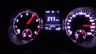 getlinkyoutube.com-2015 Yeni Passat B8 hızlanma testi(125 hp)