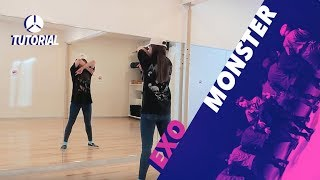 getlinkyoutube.com-[TUTORIAL] EXO - Monster | Dance Tutorial by 2KSQUAD