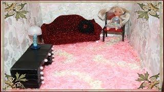 getlinkyoutube.com-Как сделать ворсовой ковер для кукол . How to do a nap carpet for dolls