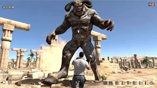 getlinkyoutube.com-Serious Sam 3 BFE Jewel of the Nile intro, Last level, final boss fight and ending