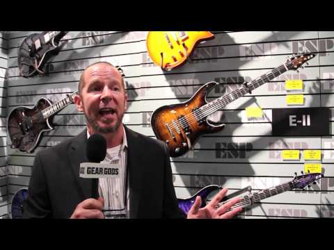 NAMM 2014: A tour of ESP Guitars part I