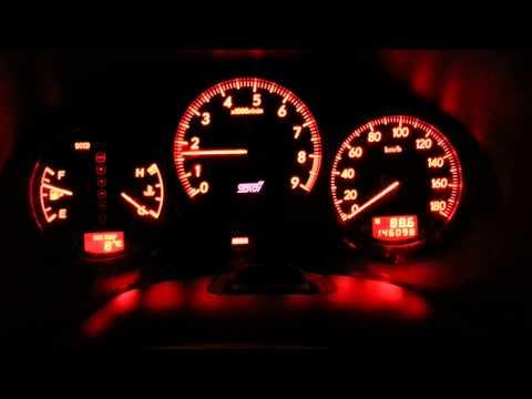Оптитроновая приборная панель Subaru