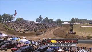 getlinkyoutube.com-2010 AMA Motocross Round 6 Red Bud   450   HD 720p