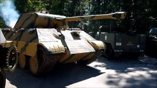 getlinkyoutube.com-Replica German WWII Panther Tank