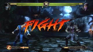 getlinkyoutube.com-Mortal Kombat 9 - Scorpion and Sub-Zero (Tag Ladder) [Expert] No Matches/Rounds Lost