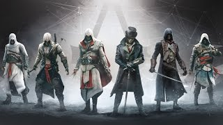 Assassin's Creed - 6 Legendary Assassins (Altair, Ezio, Connor, Edward, Arno and Jacob)