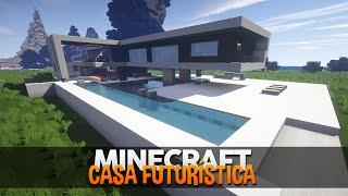 getlinkyoutube.com-Minecraft Mapas: Casas Futurísticas/Modernas!