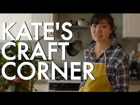Kate's Craft Corner - Pants For Plants (VIDEO)