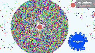Agar.io - 88k Score on an empty Experimental Server
