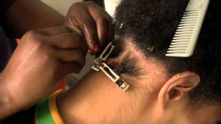 getlinkyoutube.com-RE:how to twist or dread lock your hair