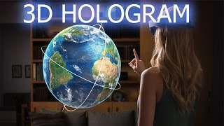 getlinkyoutube.com-How To Make 3D BIG Hologram Projector