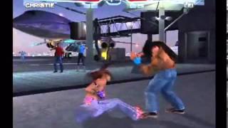 Tekken 4 (PlayStation 2) Story Battle as Christie