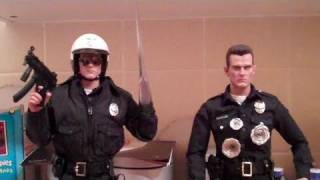 getlinkyoutube.com-The Hot Toys T-1000 from Terminator 2. Unboxing and Review