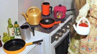 getlinkyoutube.com-Como fazer Panela (chaleira, frigideira e papeiro) para boneca Monster High, Barbie, etc
