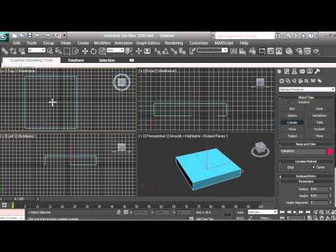 3D Modeling - Computer Fan Tutorial - Beginners - 3ds max - pt 3 of 16