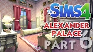 getlinkyoutube.com-The Sims 4 House Building: Alexander Palace - Part 6 - PRINCESS BEDROOMS! (Real Time)