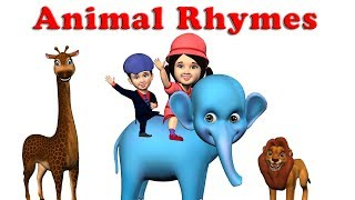 The Best Animal Nursery Rhymes Songs Collection