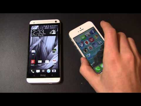 HTC One vs. iPhone 5 Dogfight Part 1