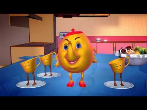 I'm a Little Teapot - 3D Animation English Nursery Rhymes with Lyrics
