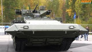 T-15 BMP Armata armoured infantry fighting vehicle technical data sheet details Russia Russian army
