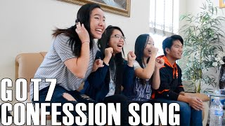 getlinkyoutube.com-GOT7- Confession Song (Reaction Video)